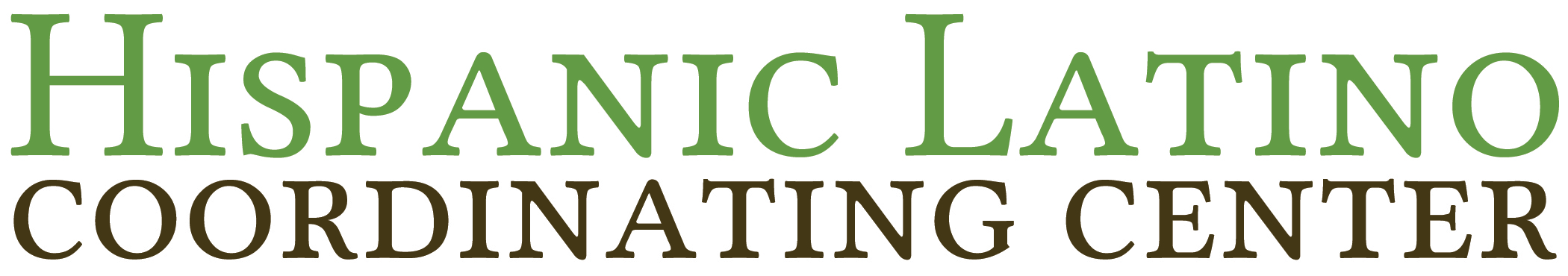 Hispanic Latino Coordinating Center home page